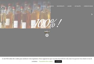 Website tigoutlontan.re desktop preview