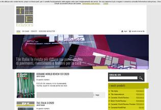 Website tiledizioni.it desktop preview
