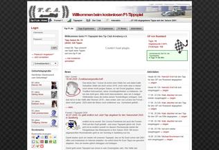 Website tip-f1.de desktop preview