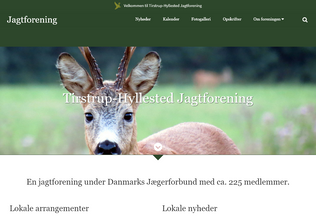Website tirstrup-hyllested.dk desktop preview