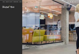 Website tirupatihost.in desktop preview