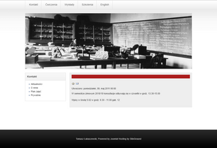 Website tomaszlukaszewski.pl desktop preview