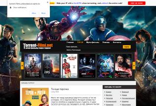 Website torrent-filmi.unblocked.id desktop preview