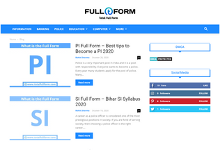 Website totalfullform.com desktop preview