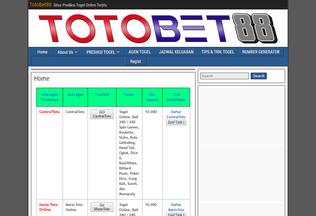 Website totobet88.net desktop preview