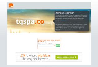 Website tqspa.co desktop preview