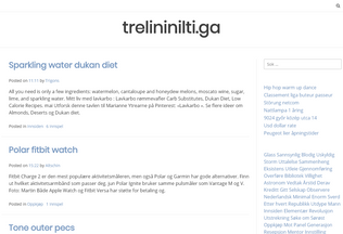 Website trelininilti.ga desktop preview