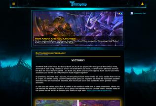 Website truewow.org desktop preview
