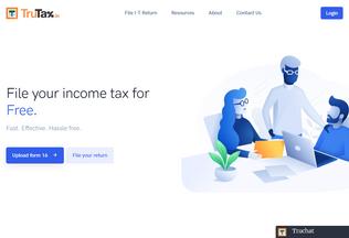Website trutax.in desktop preview