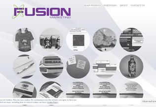 Website tryfusionmarketing.wordpress.com desktop preview
