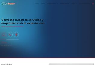 Website tvzamora.net desktop preview