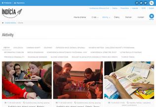 Website ucmeradi.sk desktop preview