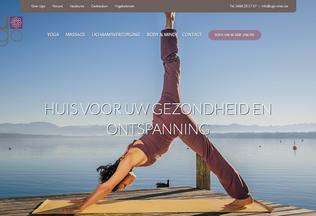 Website ugo-relax.be desktop preview