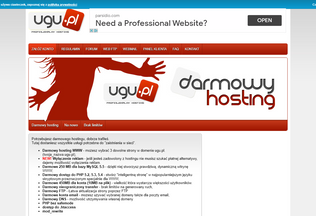 Website ugu.pl desktop preview