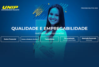 Website unip.br desktop preview