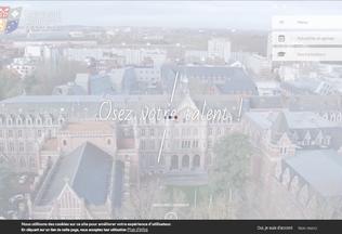 Website univ-catholille.fr desktop preview