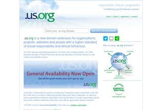 Website us.org desktop preview