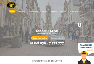 Website utc.nl desktop preview