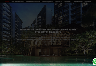 Website valuehomes.sg desktop preview