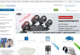 Website vgi-market.ru desktop preview