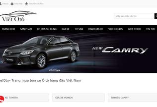 Website vietoto.vn desktop preview