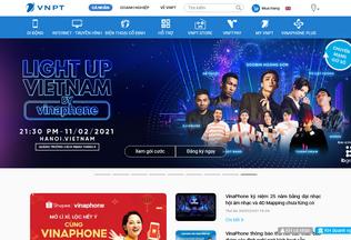 Website vnpt.vn desktop preview