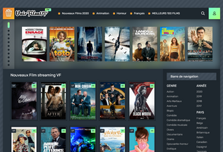Website voirfilmvf.tv desktop preview