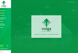 Website volga-paper.ru desktop preview
