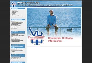 Website vuhh.de desktop preview