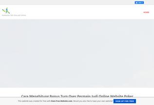 Website warkoppoker.page.tl desktop preview