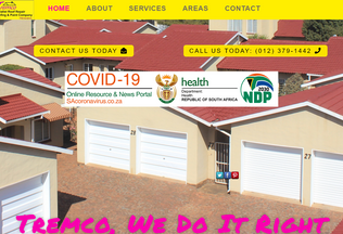 Website waterproofing-centurion.co.za desktop preview