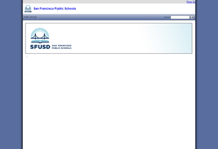 Website web.sfusd.edu desktop preview