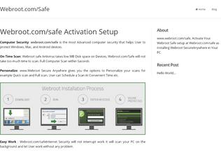 Website webcosafe.com desktop preview