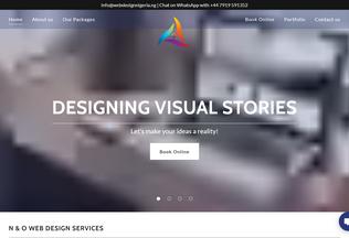 Website webdesignnigeria.com.ng desktop preview