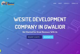 Website webhut.org desktop preview