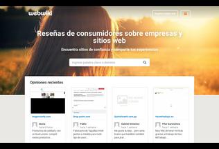 Website webwikis.es desktop preview