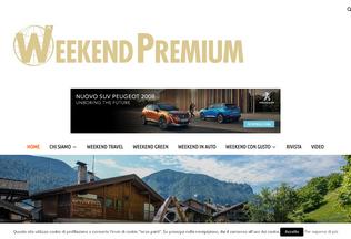 Website weekendpremium.it desktop preview