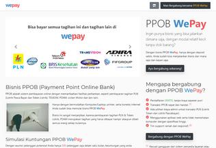 Website wepay.id desktop preview