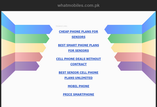 Website whatmobiles.com.pk desktop preview