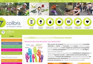Website wiki-colibris83provenceverdon.org desktop preview