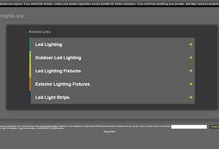 Website wikilights.org desktop preview
