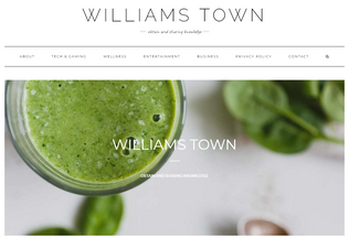 Website williamstown.ws desktop preview