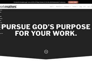 Website workmatters.org desktop preview