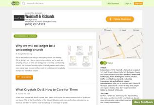 Website wshffndrchrds.hub.biz desktop preview