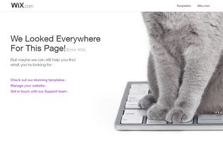 Website wwwe.wix.com desktop preview