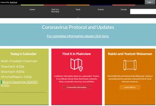 Website yiplainview.org desktop preview