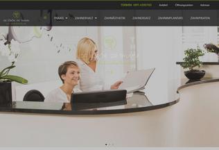 Website zahnarzt-toeroek-thumm.de desktop preview