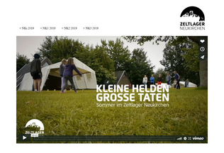 Website zeltlager-neukirchen.de desktop preview