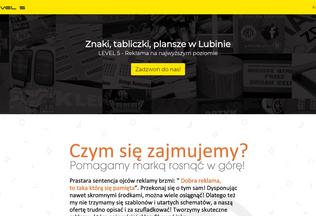 Website znakitabliczki.lubin.net.pl desktop preview