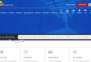 Website zz.com.ve desktop preview